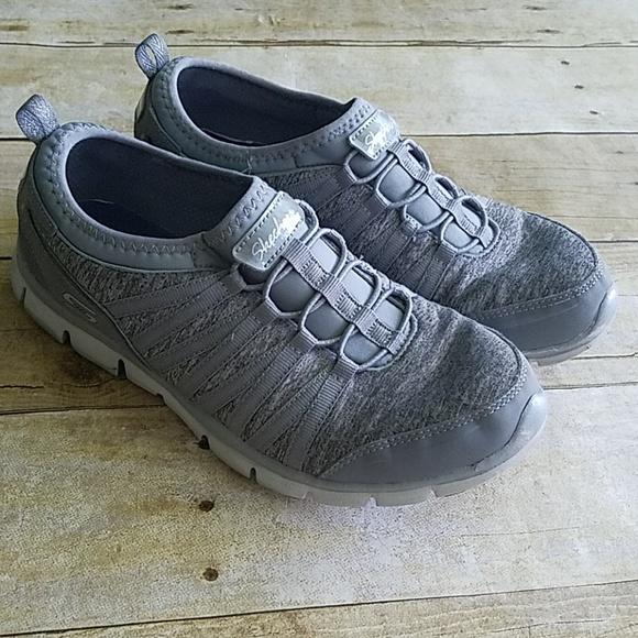 loopschoenen glad nieuwe stijl Skechers Air-Cooled Memory Foam